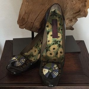KENZO unique design art shoes
